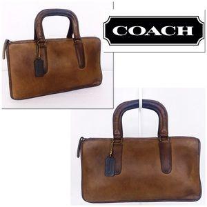 Coach Vintage NYC Leather Slim Satchel Compact Bag